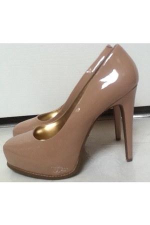 nude simply vera heels