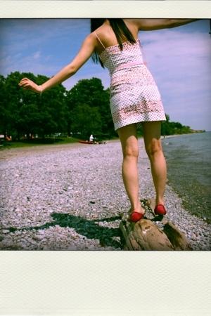 Zara dress - Zara shoes