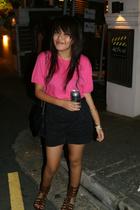 shirt - pants - shoes - Chanel purse