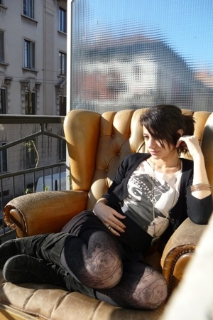 H&M shirt - Bershka blazer - H&M skirt - none boots