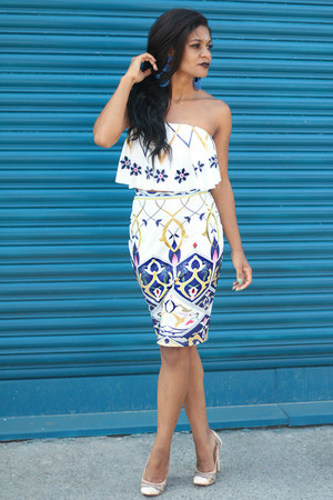 nude amiclubwear AmiClubWear shoes - blue love it Rosewholesale skirt