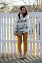 slouchy sweater & skinnies.