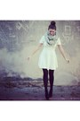 Forever-21-dress-forever-21-tights-urban-outfitters-scarf