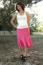 Aeropostale shirt - ann taylor skirt - Dollhouse shoes