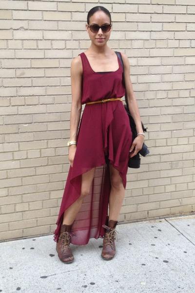 High Low Lf Dress Scheyelles Boots Foley Corina Bag