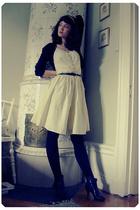 H&M jacket - H&M dress - Topshop shoes