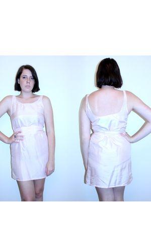 pink handmadede DIY dress