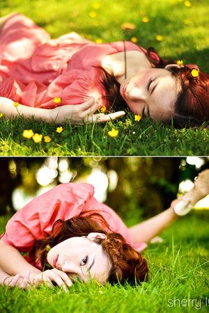 pink Sandra Angelozzi dress