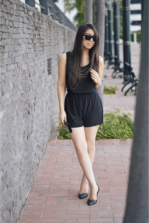 black Super sunglasses - black Forever 21 romper