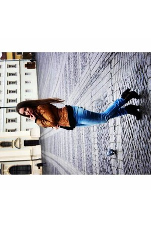 pull&bear jeans - Bershka jacket