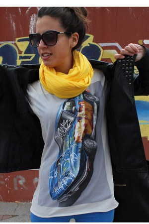 Zara jeans - westrags jacket - Zara t-shirt