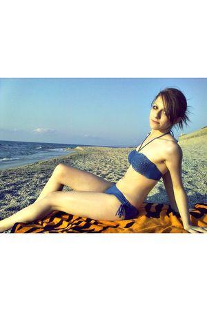blue Primark swimwear