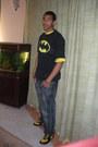 Batman-bape-shoes