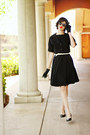 Black-rayon-1960s-mod-time-machine-vintage-dress