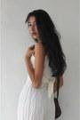 White-lace-sophies-vêtements-bodysuit-light-brown-rag-cotton-on-cardigan