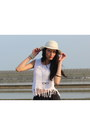 White-floppy-hat-country-road-hat-white-beach-clockhouse-top