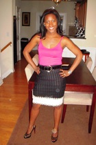 Target top - thrifted belt - Missoni skirt - Christian Louboutin shoes