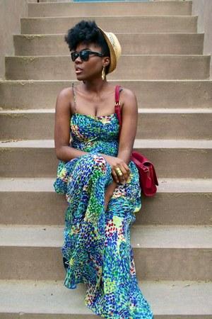 Zara dress - coach bag