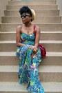 Zara-dress-coach-bag