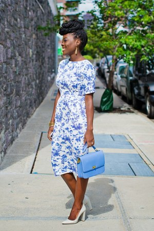 wiggle dress asos dress - JCrew bag - Zara heels