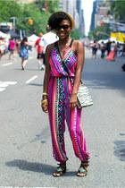 Urban Outfitters jumper - H&M hat - Zara bag - Lucky Brand sandals