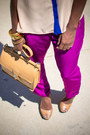Vince-camuto-sandals-coach-bag-zara-pants-necessary-clothing-top