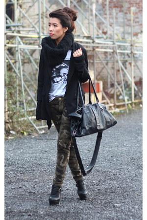Zara pants - asos boots
