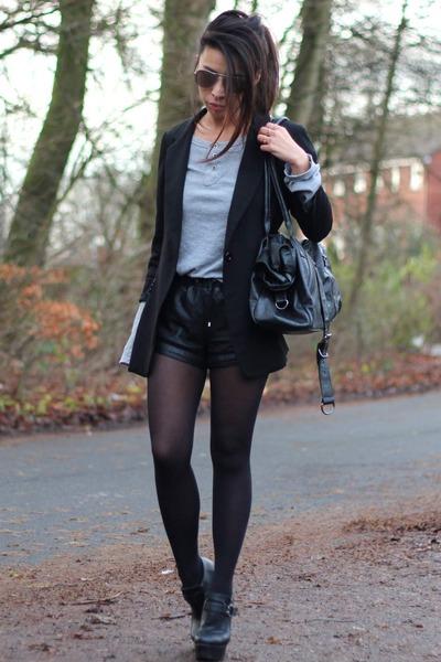 Topshop blazer - asos shorts - Topman top