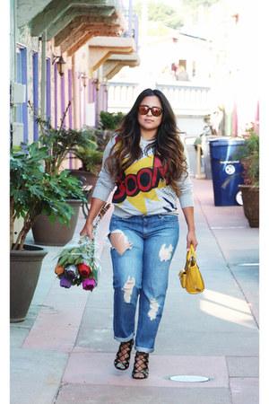 mustard 31 Phillip Lim x Target bag - Forever 21 jeans