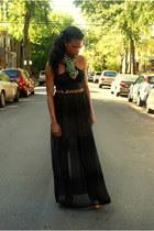 Jeffrey Campbell boots - black Cheap Monday dress - Sir & Madame scarf