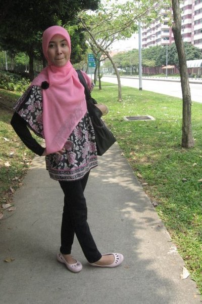 scarf - top - shoes - accessories