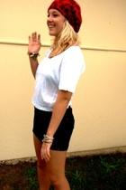 Sportsgirl - Sportsgirl t-shirt - Lee Rider skirt