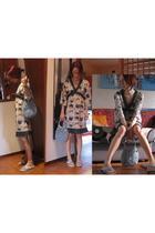 Custo dress - Tosca Blu accessories - Fiorucci shoes