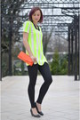 Gray-random-shoes-black-stradivarius-leggings