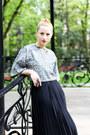 Black-cut-out-stradivarius-boots-black-zara-top-black-pleated-thrifted-skirt
