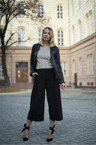 black culottes H&M pants