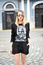 Black-h-m-t-shirt