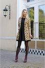 Magenta-ankle-h-m-boots-black-persunmall-dress-camel-hearts-sheinside-coat