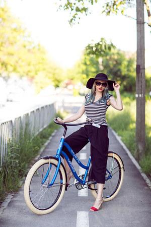 black H&M hat - black H&M pants