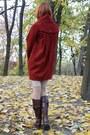 Brick-red-h-m-coat-dark-brown-alto-gradimento-boots-white-random-tights
