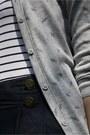 Black-fiore-tights-heather-gray-bershka-cardigan-navy-amisu-romper-heather