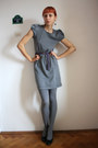 Black-dunnes-dress-black-meli-melo-tights-dark-gray-dgm-shoes-deep-purple-