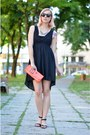 Black-stradivarius-dress-clutch-tiramisu-alle-fragole-bag