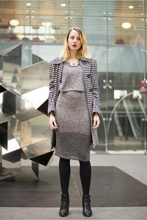 heather gray Sheinside dress