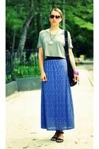 nowIStyle skirt - H&M bag - meli melo sunglasses - H&M sandals