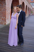 light purple wedding BAD Style dress