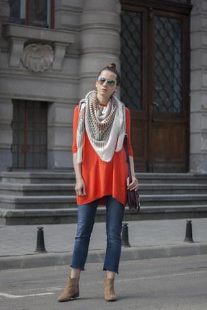 camel zaful scarf