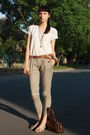 White-vintage-blouse-beige-stradivarius-pants-white-random-shoes-brown-thr