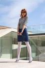 White-thrifted-shirt-white-calzedonia-tights-blue-thrifted-skirt-black-era