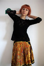 Black-thrifted-top-yellow-vintage-skirt-black-random-tights-black-amelie-b